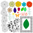 Nature vector elements collection