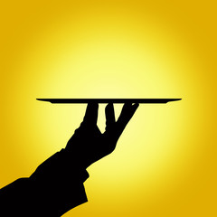 holding tray