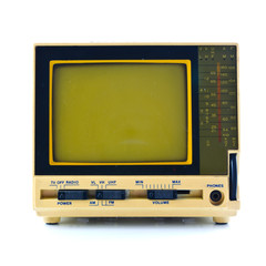 Old style of mini television