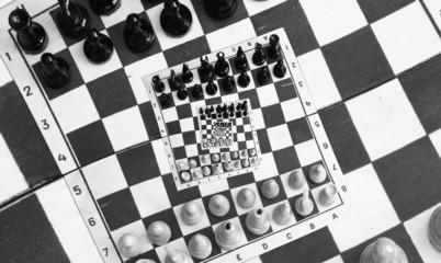 Infinity chess game