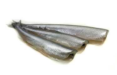 freh small scale fish without head
