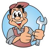Metalworker Mechanician Button poster