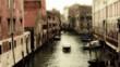 Venecia, canales y adificion antiguos