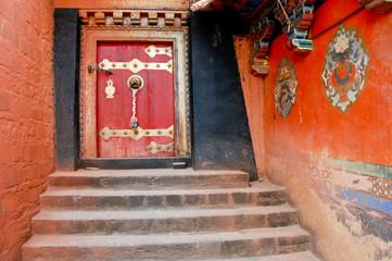 Tibet - Monastry door