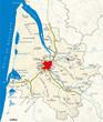 Carte du département de la Gironde [33]