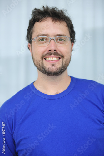 mid adult man with glasses and beard