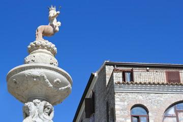 Barockbrunnen mit Centauressa