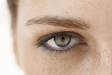 Young Woman, close-up on eye