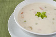 Creamy Cauliflower Soup with Cashew Cream