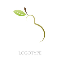 Logo pear # Vector