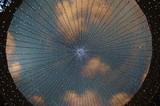 plafond du centre commercial Venus Fort de Tokyo poster