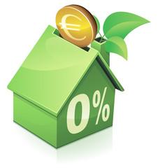 Investir avec un prêt à taux zéro (reflet)