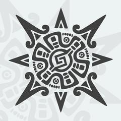 Mayan Design Symbol