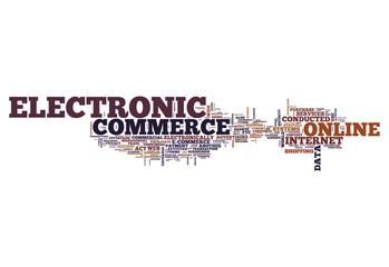 """Word Cloud """"E-Commerce"""""""