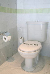 Sterilized toilet