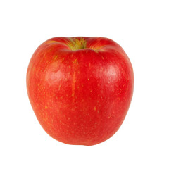 Fresh Honeycrisp Apple isolated on white