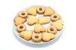 Biscotti nel piatto