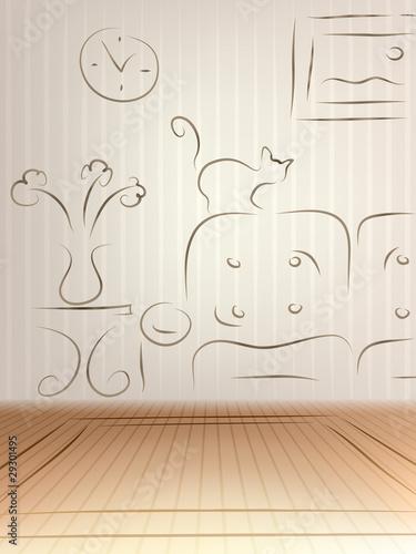 Room renovation sketch