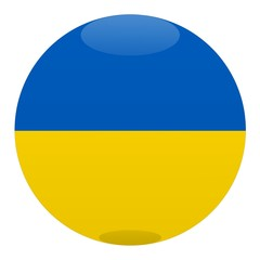 boule ukraine ball drapeau flag