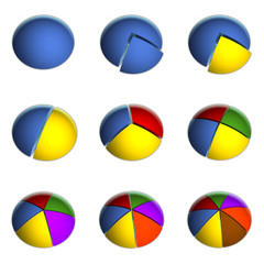 9 Business Pie Charts