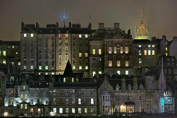 Edinburgh, Scotland, Old Town, mediaeval high rise buildings