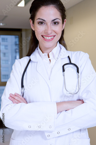 Attractive physician