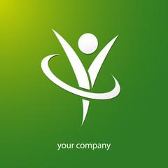 logo entreprise, logo bien-être