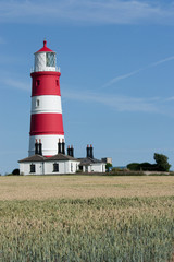 Happisburgh lighthouse Norfolk England