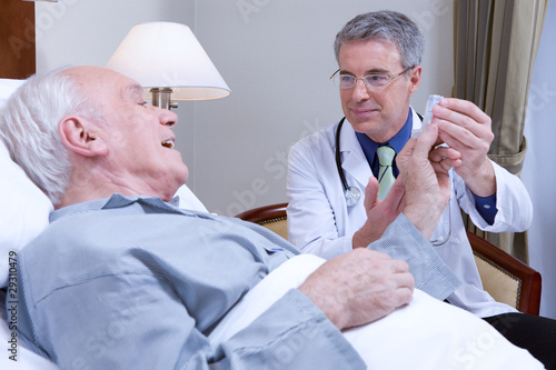 Doctor and patient portrait