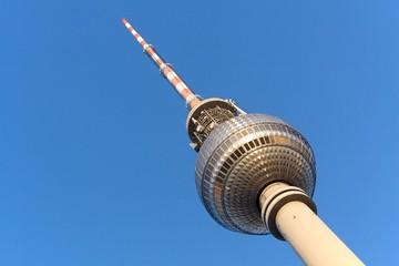 Fernsehturm Berlin mit Textfreiraum