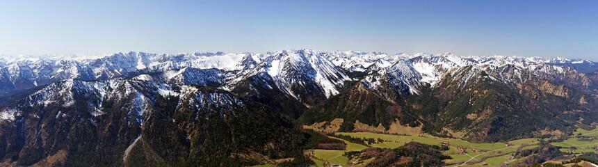 Mountains Panorama View - Alpen Panorama
