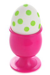 Easter egg in an eggcup
