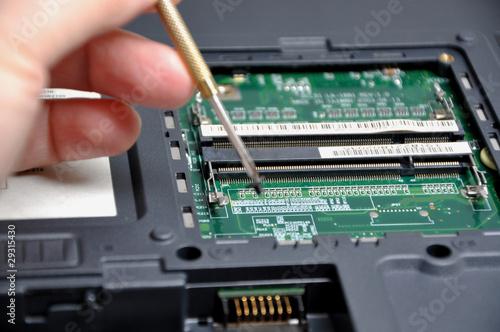 Repairing computer problem