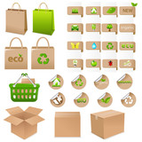 Set Of Ecological Container
