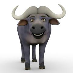 buffalo cartoon stand up