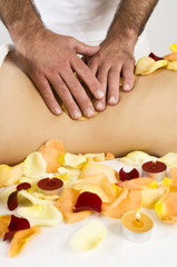 Rückenmassage-Wellness