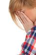 suffering from pain - headache