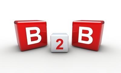 B2B red