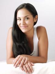 Joven belleza latina.