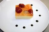 Dessert with strawberry gelatin poster