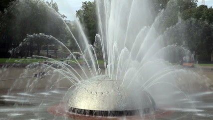 International Fountain in Seattle Washington