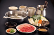 Japanese food with hot pan 1