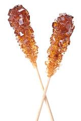 Brown amber sugar