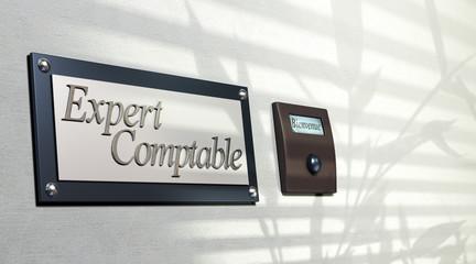 expert comptable - image plaque expertise comptabilité