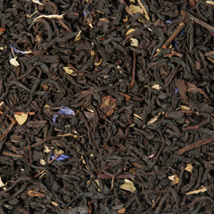 Aromatic tea closeup