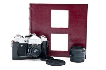 Camera and photo album