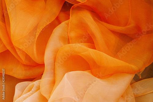 Chiffontuch, orange - 29348237