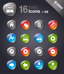 Glossy Pebbles - web icons 02