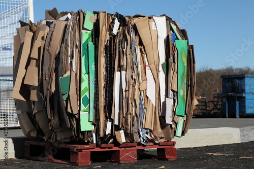 Recycling Cardboard Waste
