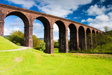 Low gill viaduct in Yorkshire Dales National Park poster
